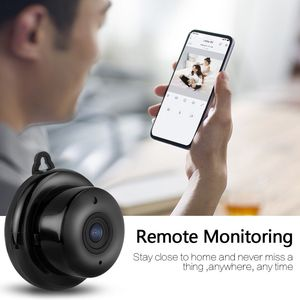 Image 5 - Kruiqi 960P 720P Home Security IP Camera Two Way Audio Wireless Mini Camera Night Vision CCTV WiFi Camera Baby Monitor V380 pro