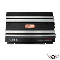 1PC Top Quality Cars Audio Subwoofer 4 Way Car Amplifier 4 Channel 4 100W High Power