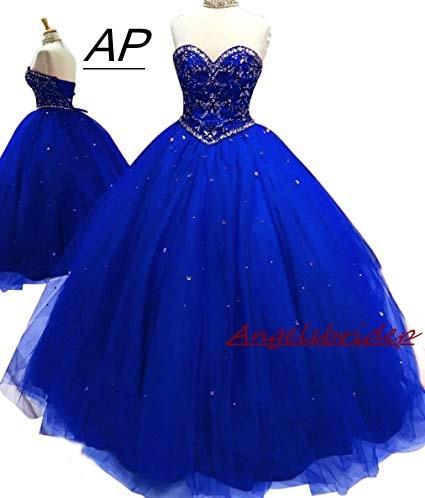 ANGELSBRIDEP Ball Gowns Vestid...