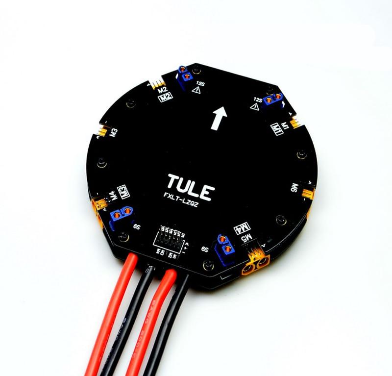 1 PC 12 S 480A wysoki prąd tablica rozdzielcza zasilania dystrybucji moduł zarządzania w odniesieniu do środków ochrony roślin UAV Drone DIY części w Części i akcesoria od Zabawki i hobby na  Grupa 1