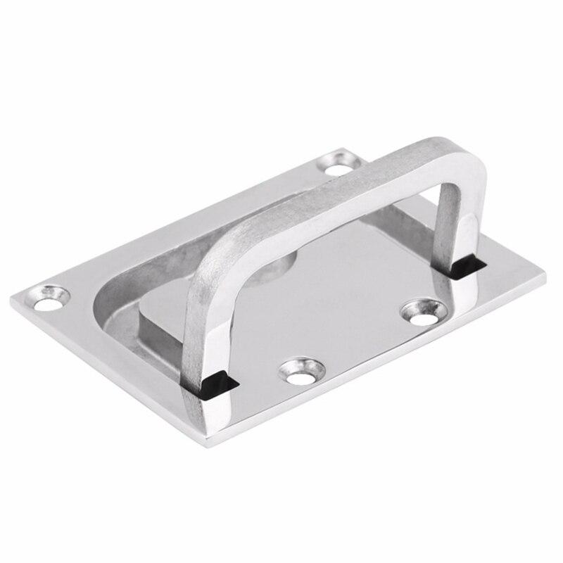 316 Stainless Steel Flush Pull Lift Handle Ring for Boat Caravan