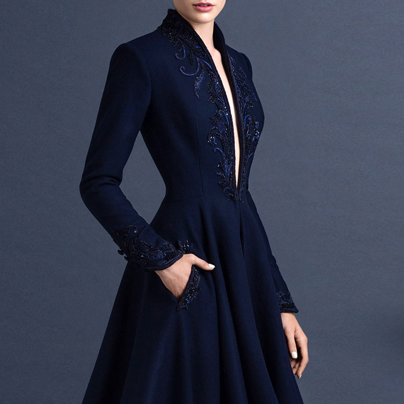 Gothic-Elegant-Long-Sleeve-Evening-Dresses-Dubai-Abaya-Navy-Blue-Arabic-Evening-Gowns-with-Sleeves-Bayan