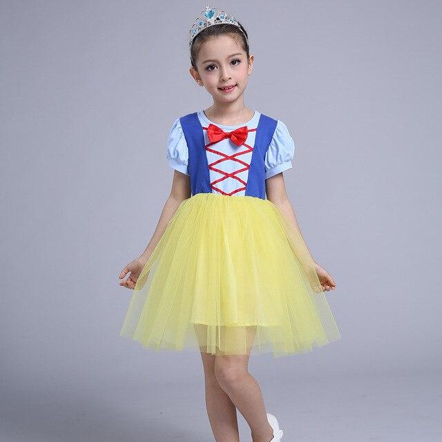 Sommer Madchen Kleid 3 10 Jahre Prinzessin Kostum Ballkleid Kinder