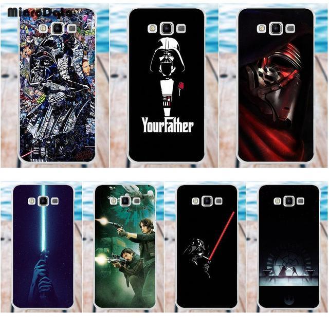 MicroData Soft Protector Cases Vintage Legend Darth Vader Star Wars For Samsung Galaxy A3 A5 A7 J1 J2 J3 J5 J7 2015 2016 2017