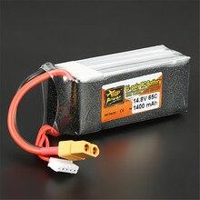 In Stock ZOP Power 14 8V 1400mAh 65C 4S Lipo font b Battery b font XT60