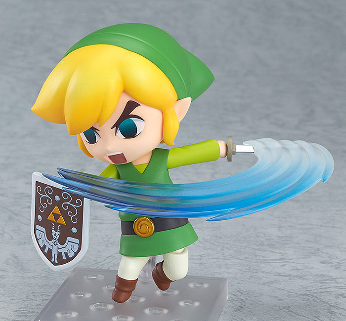 SHINEHENG Nendoroid Game The Legend of Zelda Link  PVC Action Figure 10CM Q Ver. Zelda Link Collectible Model Toy Doll anime the legend of zelda 2 a link between worlds link figma 284 pvc action figure collectible model kids toys doll 10 5cm