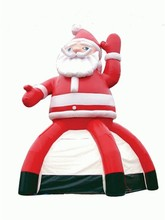 Commercial Grade Inflatable Outdoor Tent Camping, Inflatable Party Dome Tent  Santa Claus  Father Christmas