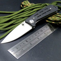 Hot Folding Knives 1985ST 8Cr13Mov Steel Serrated Blade G10 Handle 3820 Survival Knife Camping Hunting Tools