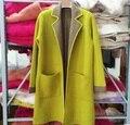 Новый чистый норки кашемира свитер женщин норки кашемира кардиганы зимой свитер оптовая торговля розничная торговля большой размер Бесплатная доставка