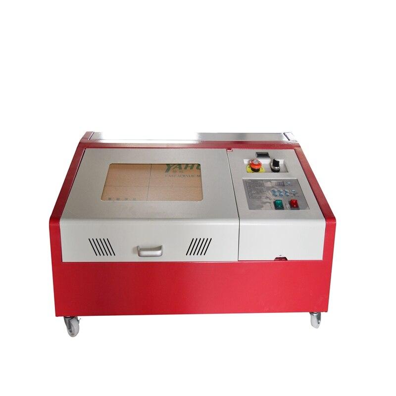 La nouvelle CNC Laser 40W gravure laser 40WGraviermaschine 30x20 CO2 USB avec 4RADS CNC 40W