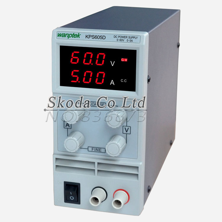 Newest mini switching DC power supply KPS605D 60V 5A Single Channel adjustable SMPS Digital 0 1V