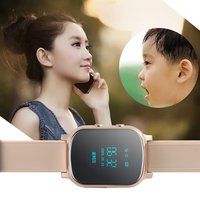 Christmas Gifts GPS Tracker Smart Watch for Children Bracelet Google Map SOS Button Tracker GSM Locator Smartwatch Kids watch