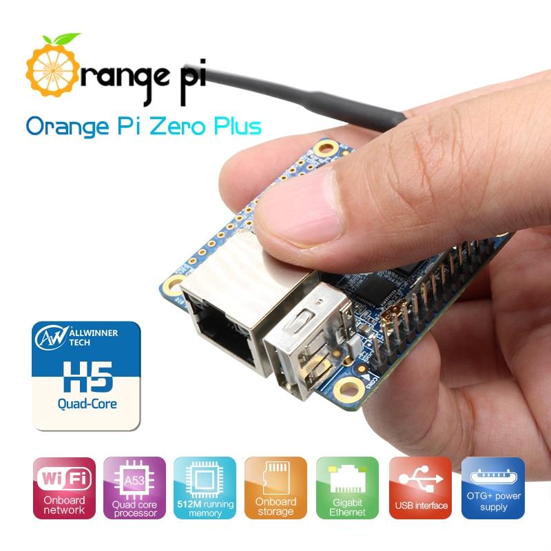 Оранжевый Pi ноль плюс H5 чип Quad-Core с открытым исходным кодом Cortex-A53 512 Мб однорежимный одинарный доска