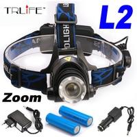 2000 Lumens CREE XM L XML T6 LED Headlamp Headlight Flashlight Head Lamp Light 18650 AC