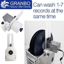 Soporte para lavadora de discos de vinilo para Auto gramófono LP, porta álbum de discos para limpieza giratoria, fuente de alimentación, elevador de motor