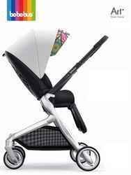 Recién Nacido portátil plegable luz peso bebé cochecito коляска... reversible de paisaje de los niños bebé cochecito...