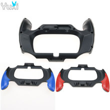 YuXi Plastic Case Grip Handle Holder Bracket for Sony PSV PS Vita 2000 Hands-free Controller Protective Game Accessories цена
