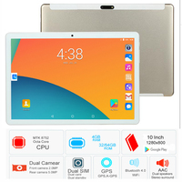 2019 New Tablet pcs 10.1 inch 3G Phone tablet PC 8 Octa Core RAM 4GB ROM 32GB 64GB tablets Computer 10 kids tablet 4G LTE FM GPS