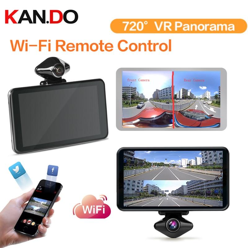 64gb 720 degree VR camera WIFI 360 panorama recorder battery 6 hours video recorder car camera self-shot recording camera DVR