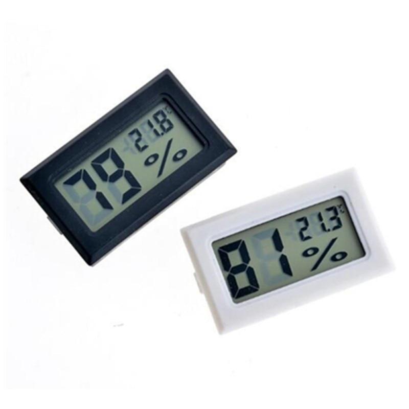 Digital Embedded Temperature Humidity Meter Indoor Mini Thermometer Hygrometer