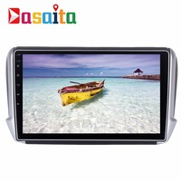 Dasaita 10 2 Android 7 1 Car GPS Player Navi For Peugeot 208 2008 With 2G