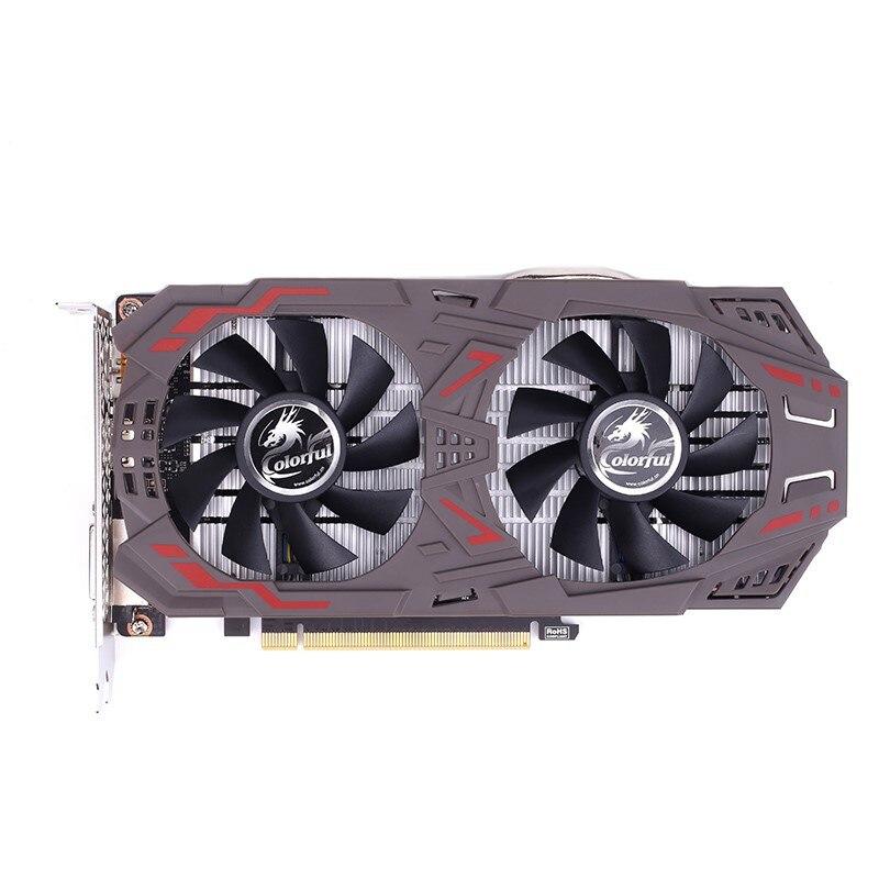 COLORÉ GeForce GTX1060 5 gb GDDR5 Gaming Carte Graphique 1506-1708 mhz PCI-E X16 (3.0) DVI + HDMI + DP Vidéo Carte 2 Fans 160bit