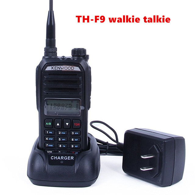 US $62 65 |For Kenwood Dual Band UHF/VHF Portable Handheld Two Way Radio TH  F9 5W Walkie Talkie football referee communications CB Radio-in Walkie