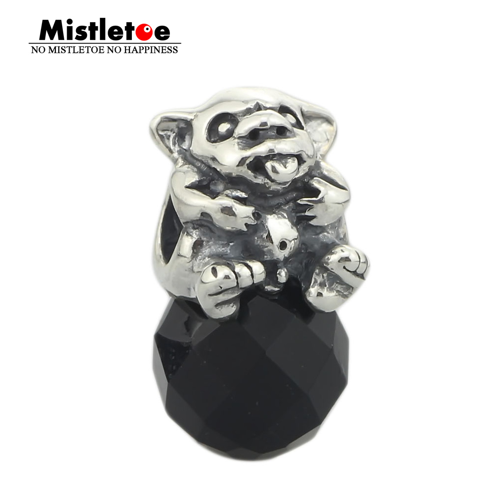 Beads & Jewelry Making Beads Three Little Monkeys Bead Authentic 925 Sterling Silver Charms Jewelry Fit Troll European Bracelet Diy Jewelry Gift For Woman