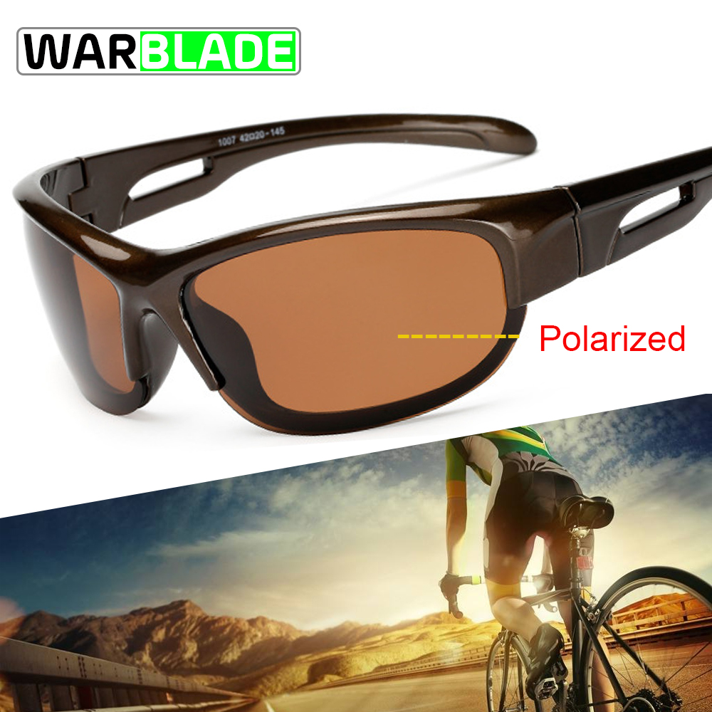 4b612cba89 WarBLade Polarized Cycling Glasses Jaw Sport Cycling Sunglasses Men UV400  Breaker MTB Cycling Eyewear Bike Bicycle Goggles 2018-in Cycling Eyewear  from ...