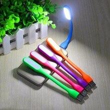 USB LED lámpara de luz portátil USB Flexible para el ordenador portátil del cuaderno Tablet Power Bank USB Gadgets Night Lights