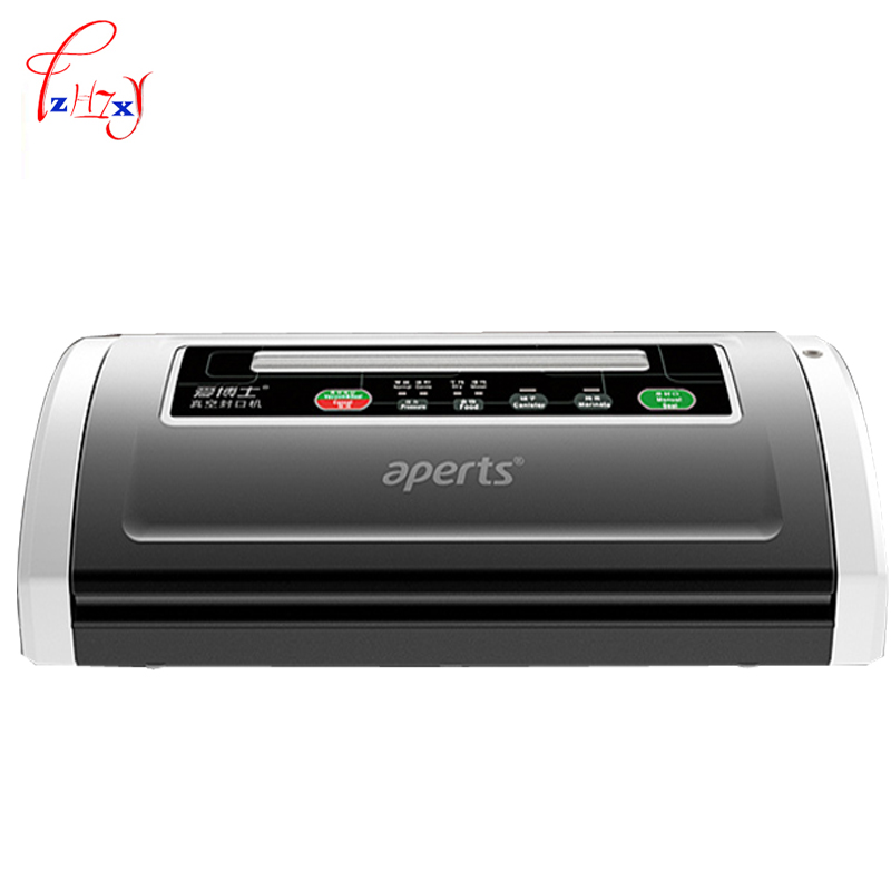 Home Commercial Vacuum sealing machine vacuum packaging machine Food Vacuum Sealer 1pc 220v full automatic electric vacuum sealing machine dry and wet vacuum packaging machine vacuum food sealers commercial and home