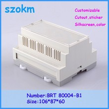 10 pcs/lot diy plastic box plastic enclosures for electronics  plastic case 106x87x60 mm