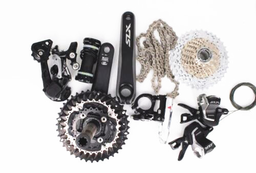 Shimano SLX M7000 3x10 speed bike bicycle MTB Groupset Group Set 30 speed Groupset 170mm kit shimano slx m7000 1x11s 11s speed groupset and hydraulic disc brake 170mm 175mm 32t 34t for mtb mountain bike