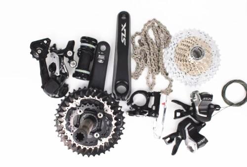 цена на Shimano SLX M7000 3x10 speed bike bicycle MTB Groupset Group Set 30 speed Groupset 170mm kit