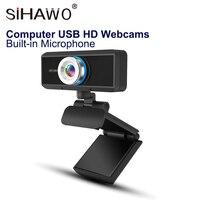 720P HD Webcam PC Camera 1 Million Pixels 1280 * 720 USB 2.0 Web Video Camera Live Video Chat Device Compatible TV Access