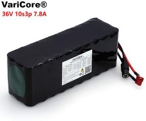 Image 3 - VariCore 36V 7.8Ah 10S3P 18650 pack de batería recargable, bicicletas modificadas, vehículo eléctrico 36V Protección PCB + 2A cargador