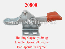 5PCS Horizontal Handle Toggle Clamp 20800 Holding Force 30KG 66LBS