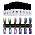 5ml Born Pretty Cat Eyes Gel Chameleon Nail Art UV Gel With Magnet Board UV Top Coat Polish (Black Base Color is Needed)