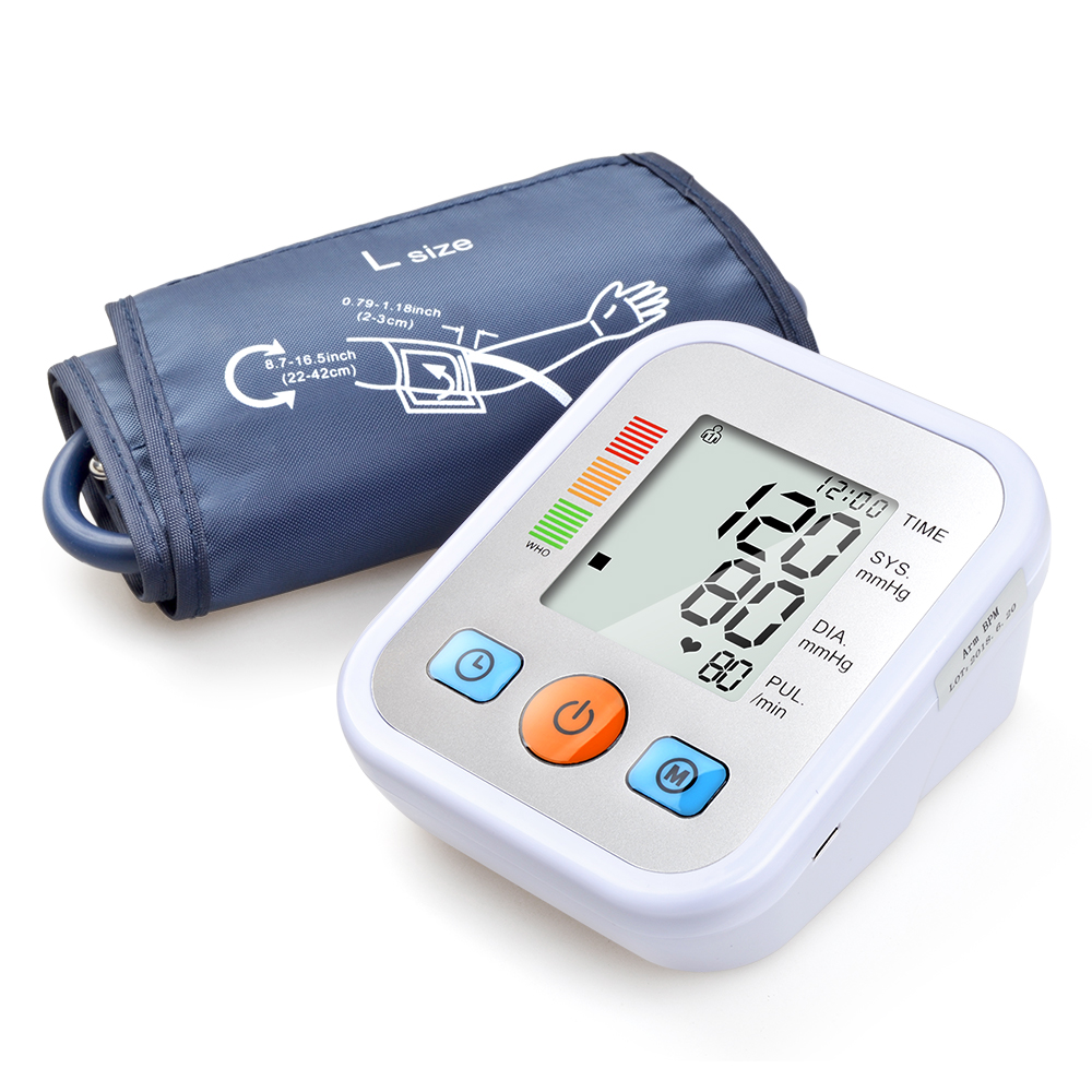 ELERA Digital Upper Blood Pressure Monitor Portable Arm Tonometer Blood Pressure Meter Automatic Tensiometro Sphygmomanometer