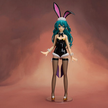 New Anime Figure 44CM Hatsune Miku Dream singer Bunny girl Hatsune 1/4 PVC Action Figure Collection Model Toys Gift цены