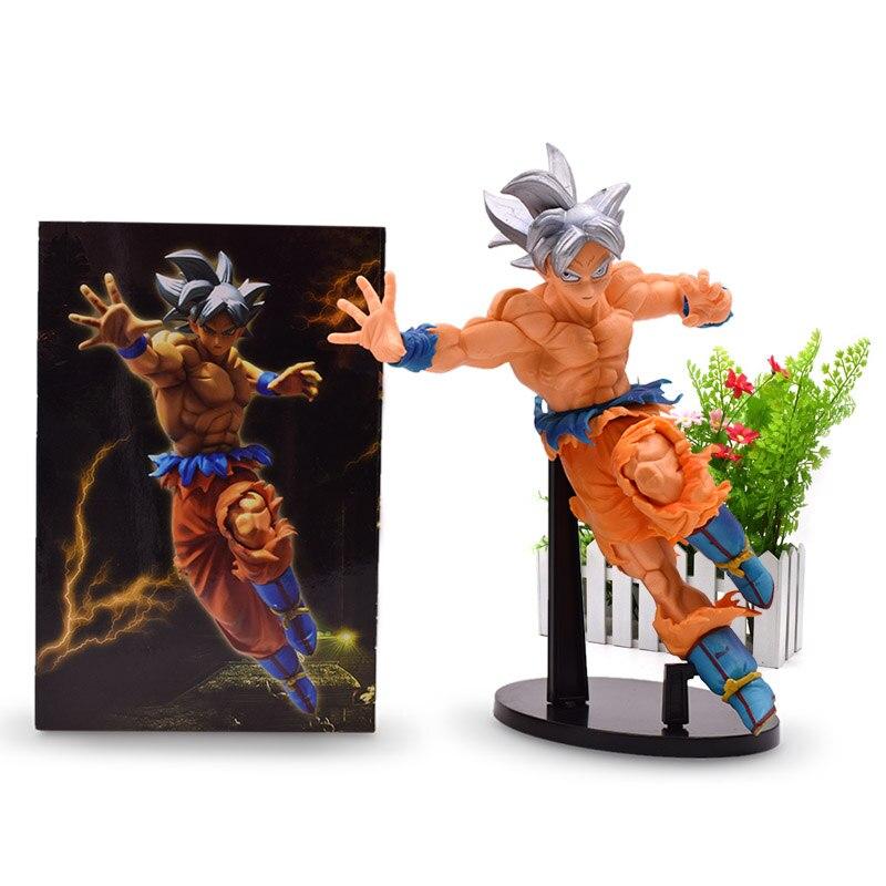 La bola del dragón del Anime Super Saiyan Goku Ultra instinto figura de  acción hijo de 2da9c9fdeed8