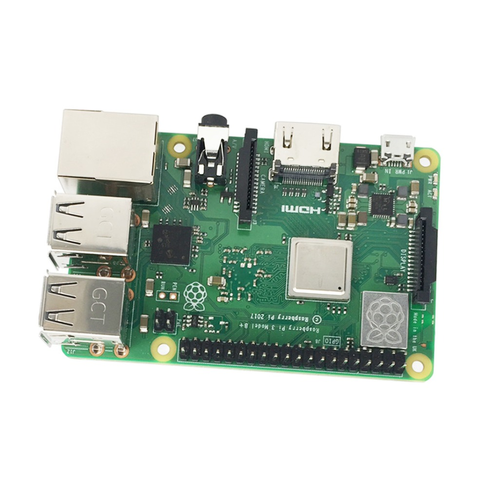 Image 3 - Raspberry Pi Model 3 B+ Starter Kit w/ 3.5inch  128M SPI LCD Display Power Heat sink-in Demo Board from Computer & Office