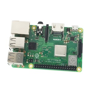 Image 3 - Raspberry Pi Modelo 3 B + Kit de inicio con 3,5 pulgadas 128 M SPI LCD pantalla potencia disipador de calor
