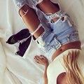 Jean femme 2016 designer jeans Grande Buraco mulheres jeans Luz Azul Calças Jeans boyfriend jeans para as mulheres pantalon femme