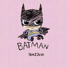 Buy 16x23cm Cartoon bat Parches Iron On Stickers Washable Appliques A-level Patches Heat Transfer For DIY Accessory Clothes Bag directly from merchant!