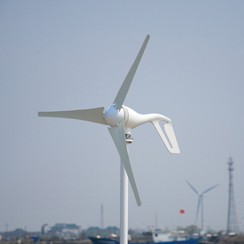 Small wind generator 400w rated, 400W wind turbine generator, 3 blades windmill +wind/solar hybrid controller (LCD display).