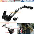 CNC Aluminium Deep Cut Brake Arm Lever Pedal Kit For HARLEY FLH FLT Street Electra Tri Glide Road King Glide Touring 2008-2013