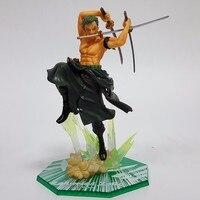 20 cm Anime One Piece Roronoa Zoro Action Figures PCV Postać Onepiece Figuarts ZERO Model Zabawki Zabawki