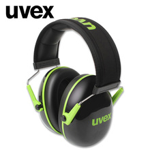 UVEX K1 Soundproof Earmuffs Noise Reduction Earmuffs 28dB SNR Adjustable Headband for Industrial Work Sleep Travel Soundproof
