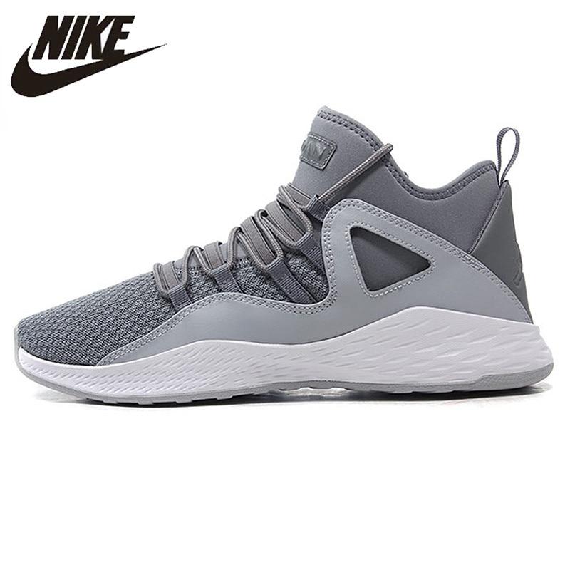 Nike AIR JORDAN FORMULA 23 Men's Basketball Shoes,Original Variety of Color Outdoor Sports Shoes,Gray Color 881465
